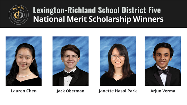 Four School District Five students named National Merit Scholarship winners