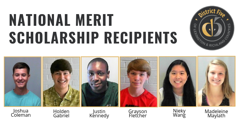 Three more School District Five students named National Merit Scholarship winners