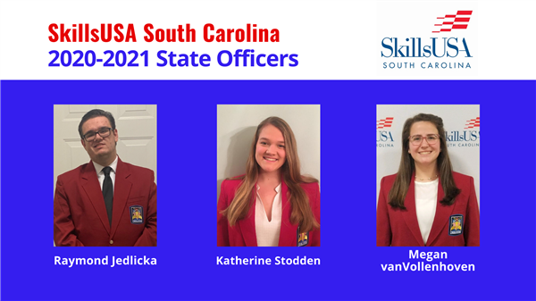 School District Five student leaders elected to SkillsUSA State Office positions
