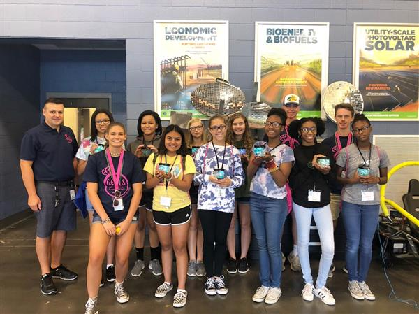 School District Five STEM Camp for girls provides exploration of potential careers