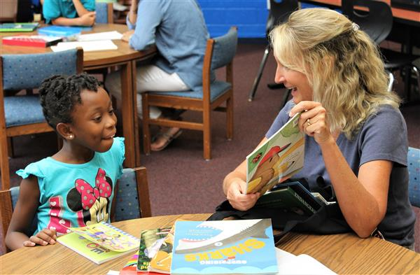 District Five teachers take on new initiative with students in summer reading camp