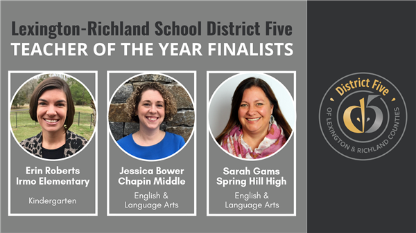 School District Five announces 2019-2020 Teacher of the Year finalists