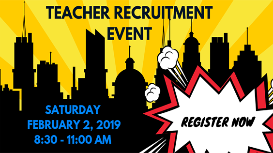 2019 Teacher Recruitment Event