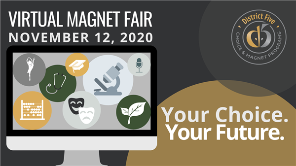 School District Five will hold virtual Magnet Fair