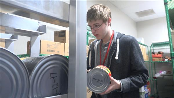 Spring Hill High student shares his love for helping others through a unique job