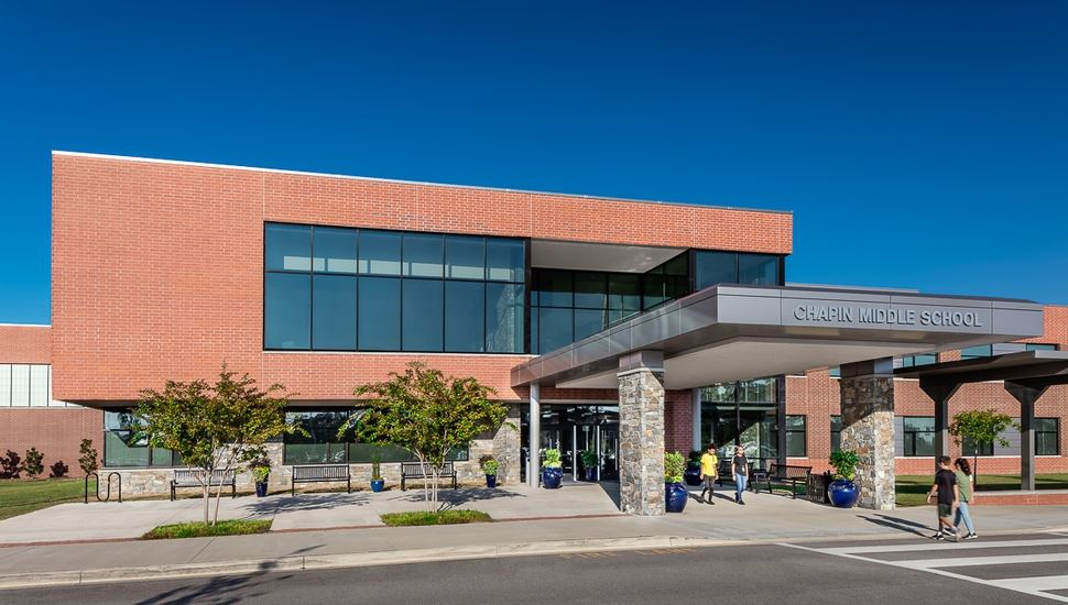 School District Five middle school receives statewide award for design