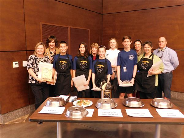 School District Five holds its seventh annual �Chopped� competition