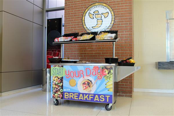 "School District Five Student Nutrition implements ""Breakfast on the Go"" and takes steps to reduce waste"