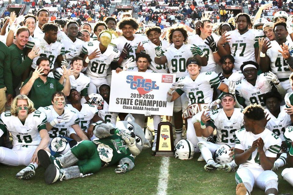 Dutch Fork High School clinches fourth straight title in football