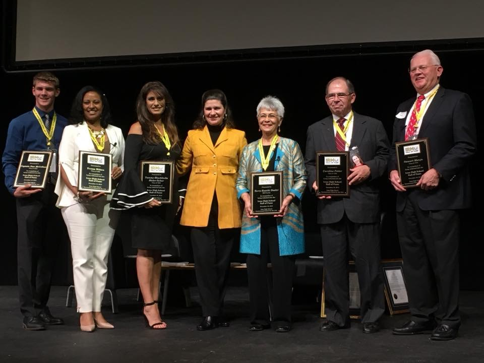 Irmo High School inducts six new members into Hall of Fame