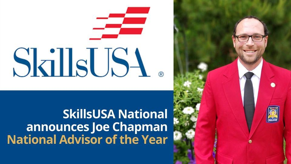 School District Five instructor honored as 2020 SkillsUSA National Advisor of the Year