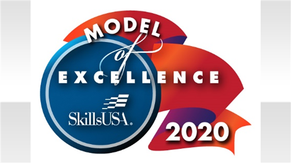 Center for Advanced Technical Studies honored as a Model of Excellence school by SkillsUSA