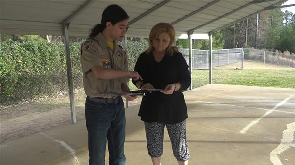 School District Five student uses Eagle Scout project to design a sensory pathway