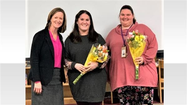 School District Five educators receive statewide recognition