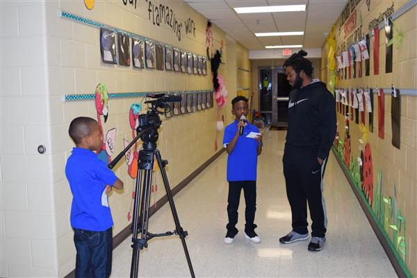 School District Five MEDIA magnet school recognized nationally