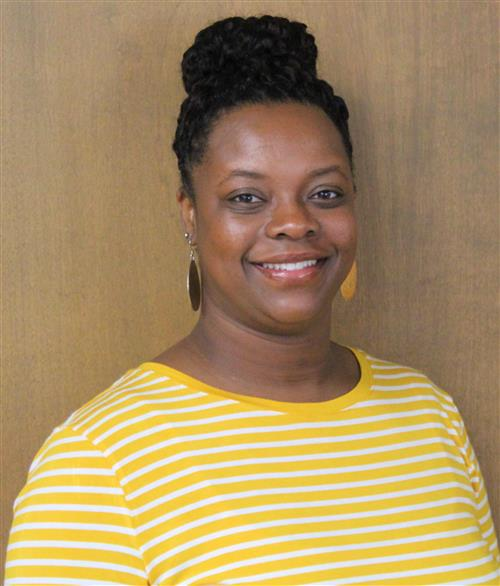 Jovonne McDaniel, Assistant for Academic Assistance and Professional Development