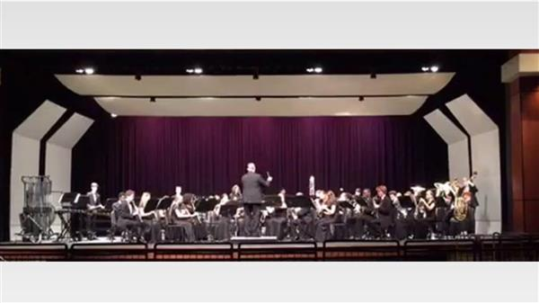 Irmo's Symphonic Wind Ensemble Selected to Perform