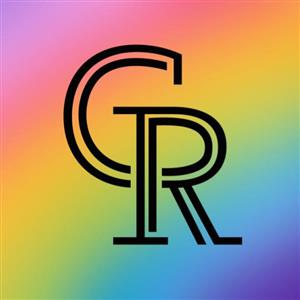 rainbow CRIS art logo