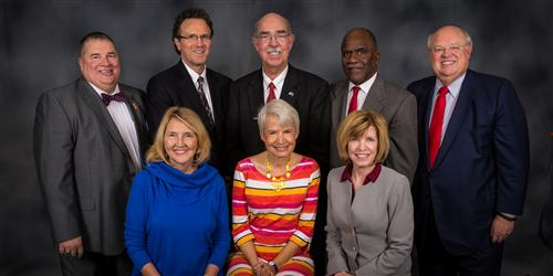 Board Members Michael Cates, Ed White, Robert Gantt, Larry Halgiwanger Sr, Jan Hammond, Ellen Baumgardner, Beth Hutchinson
