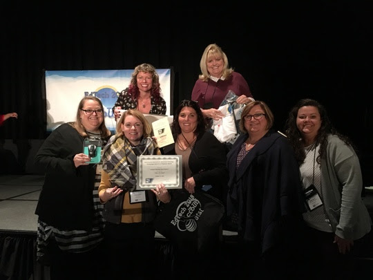 BES Digital Integration Specialist Helps Win Award!
