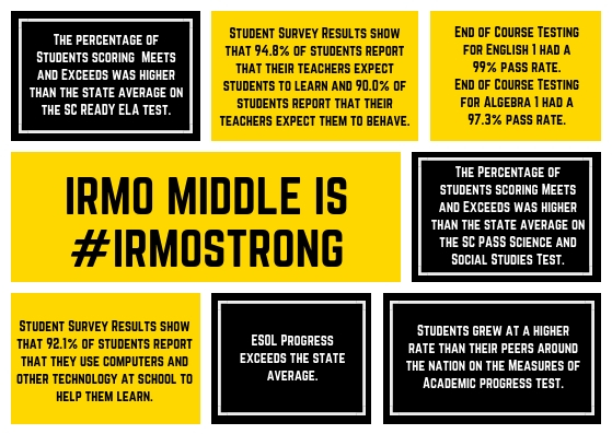 Irmo Middle School / Homepage