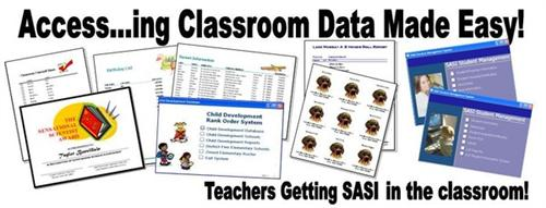 Access...ing Classroom Data - Microsoft Access Spreadsheets grouped together