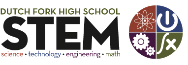 Dutch Fork High STEM (Science, Technology, Engineering and Math) Logo