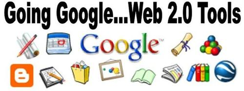 Google Web Tools - various google apps together in one image