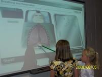 Students Using the SMART Board