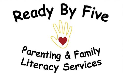Ready By Five Parenting & Family Literacy Services Logo
